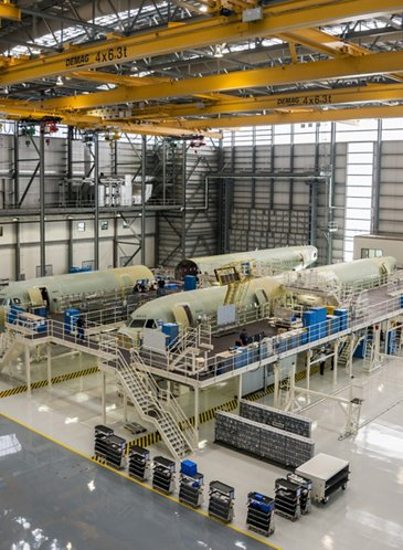 Airbus US Manufacturing Facility – Mobile Alabama inside 3