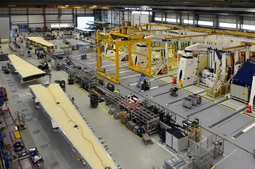 A400M Wing Manufacture