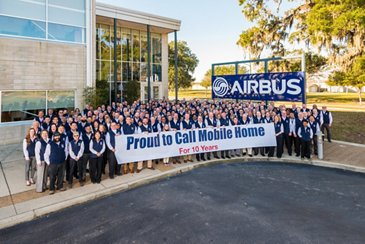 Airbus Engineering Center_10 years in Mobile