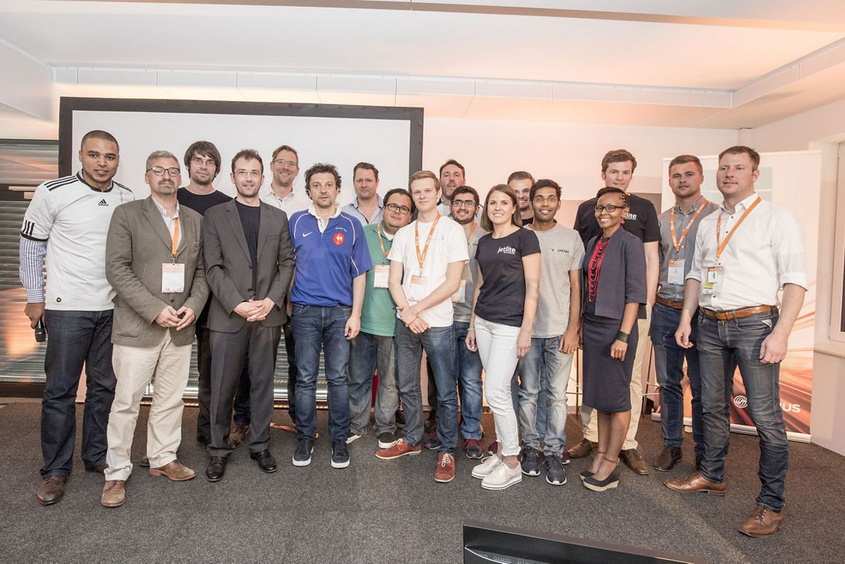 Airbus Startup BizLab all start ups