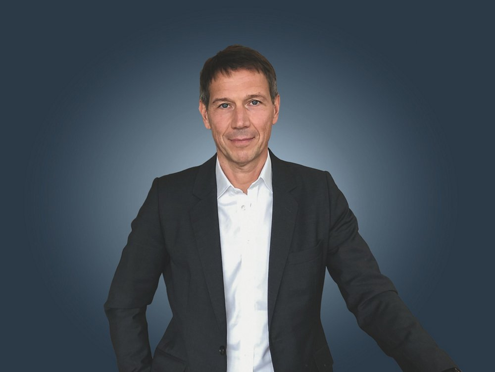 A photo of René Obermann, Chairman of the Airbus Board of Directors.