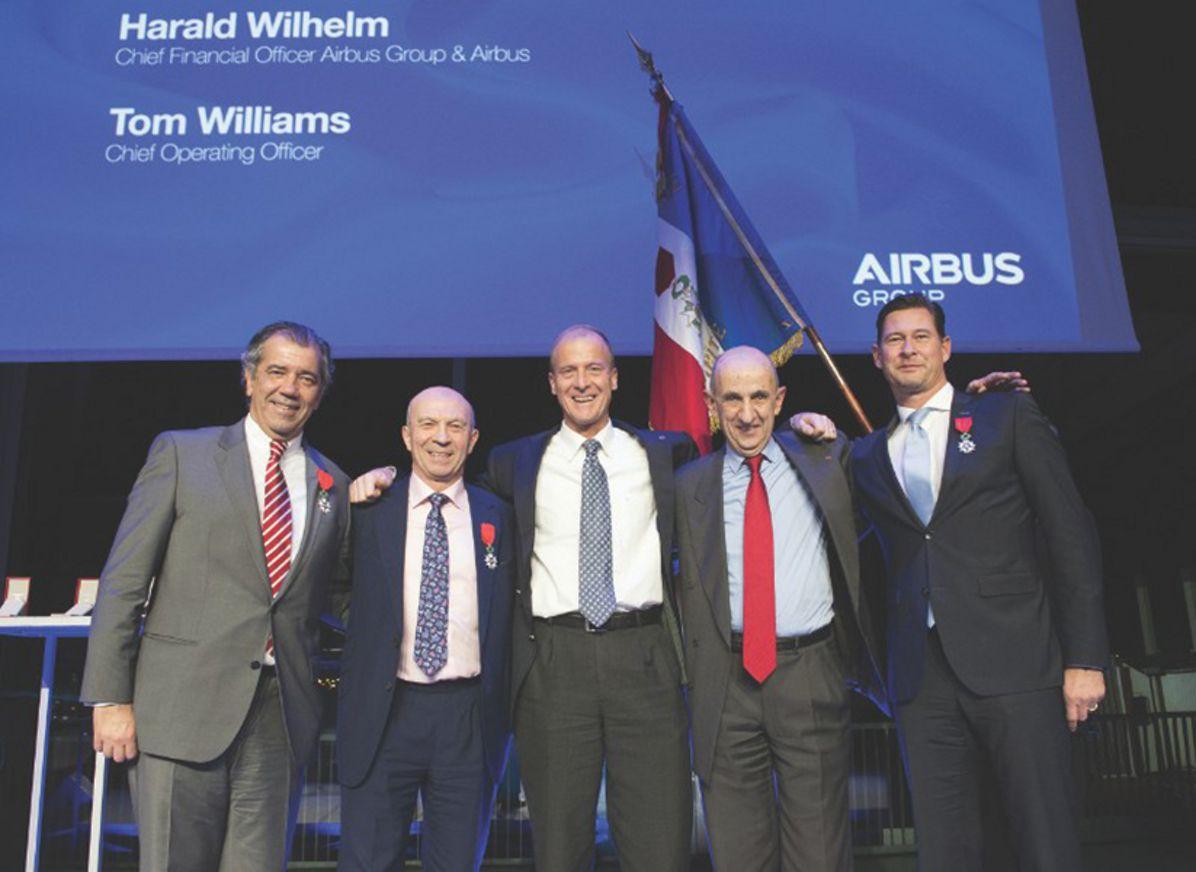 Airbus executives' Legion d'Honneur recognition 1