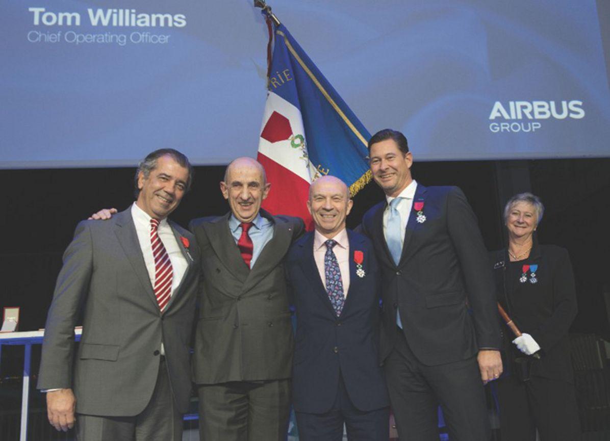 Airbus executives' Legion d'Honneur recognition 2