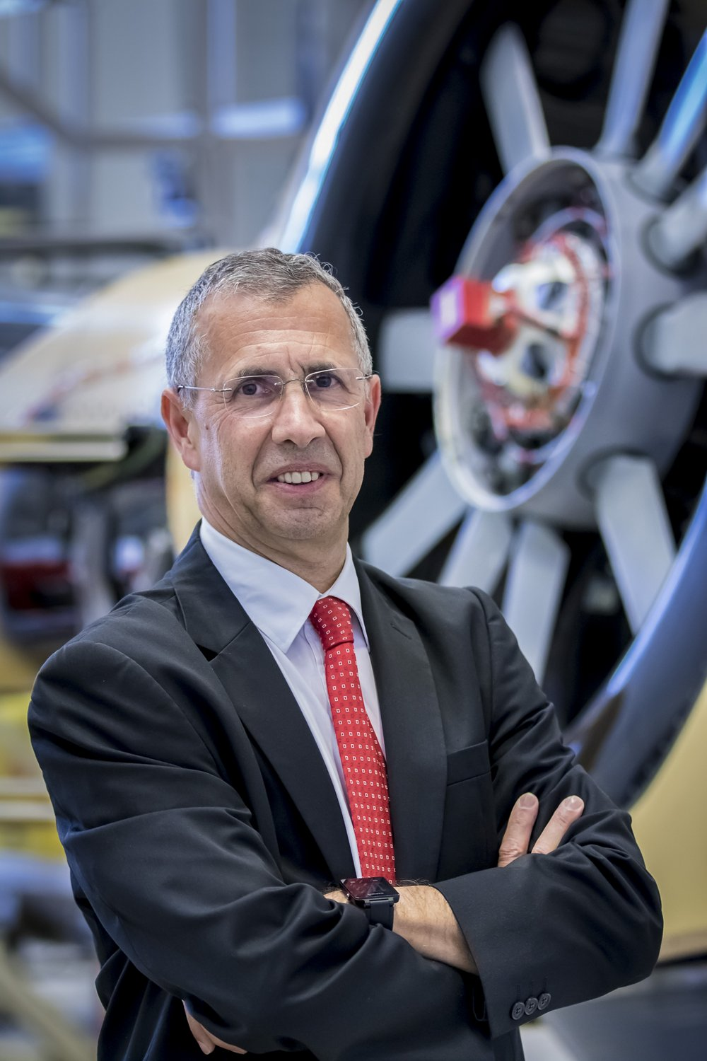 Photo of Alain Flourens, Executive Vice President of Operations at Airbus Helicopters.