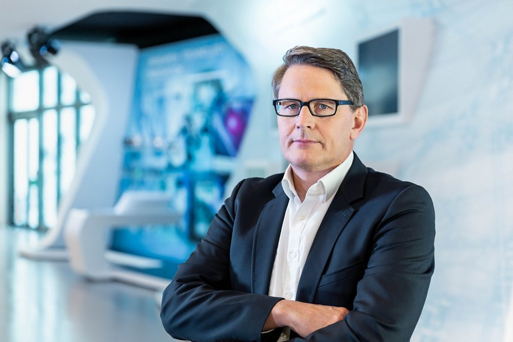 Photo of Andreas Riecker, Airbus Defence and Space's General Counsel, Head of Legal & Compliance.
