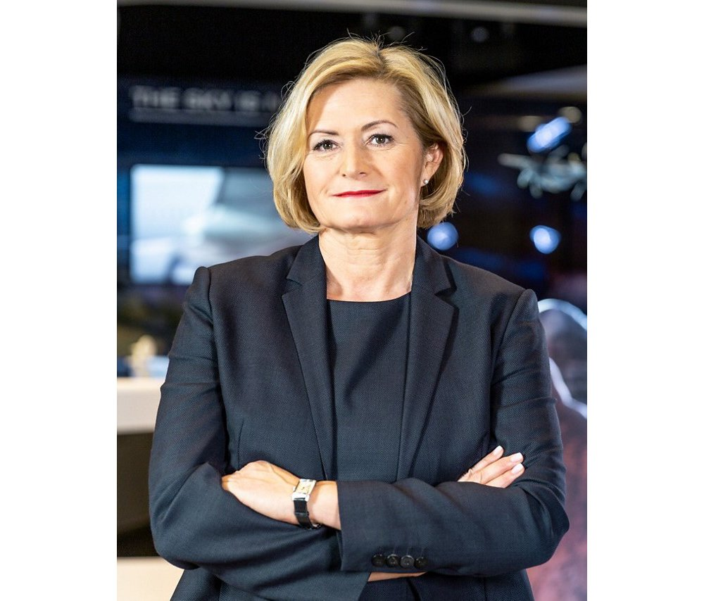 Photo of Barbara Bergmeier, Head of Operations at Airbus Defence and Space.