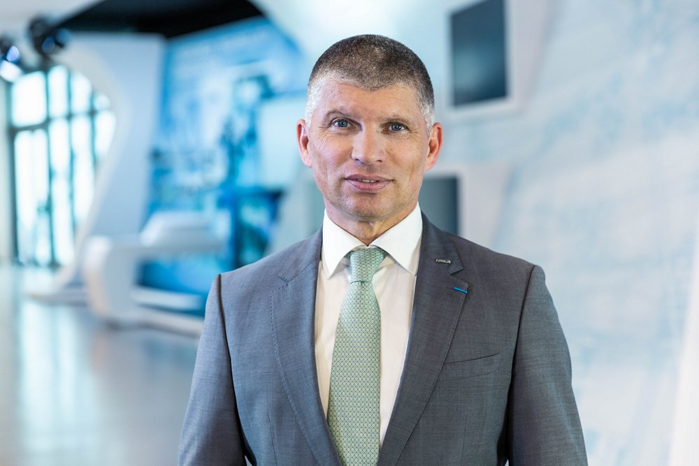 Photo of Bernhard Brenner, Airbus Defence and Space's Executive Vice President, Marketing and Sales.