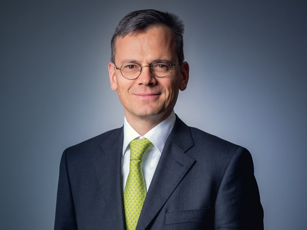 Photo of Dominik Asam, the Chief Financial Officer (CFO) of Airbus.