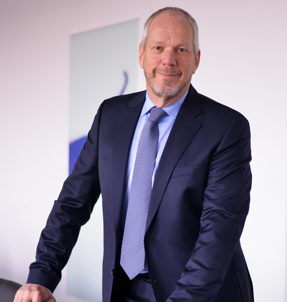 Photo of Evert Dudok, Airbus Defence and Space's Executive Vice President, Connected Intelligence.
