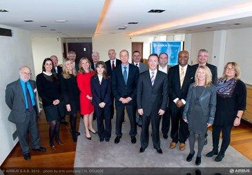 Foundation Airbus board of directors Dec 2012