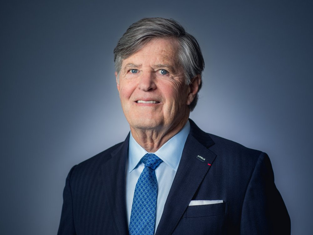 Photo of Ralph D. Crosby, Jr., a member of the Airbus Board of Directors.