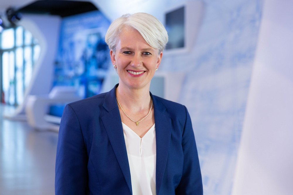 Photo of Sabine Klauke, Airbus Defence and Space's Head of Engineering and a member of its Executive Committee.