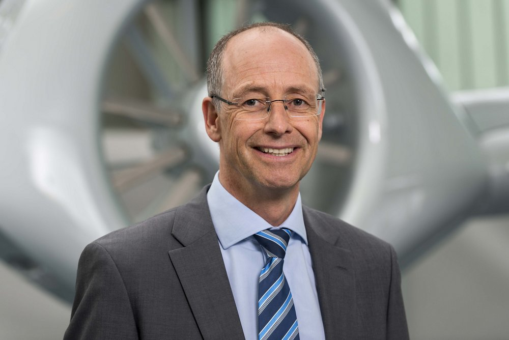 Photo of Wolfgang Schoder, Airbus Helicopters' Executive Vice President, Strategy and General Manager of Airbus Helicopters Deutschland.