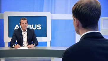 Guillaume Faury, his first day as Airbus CEO