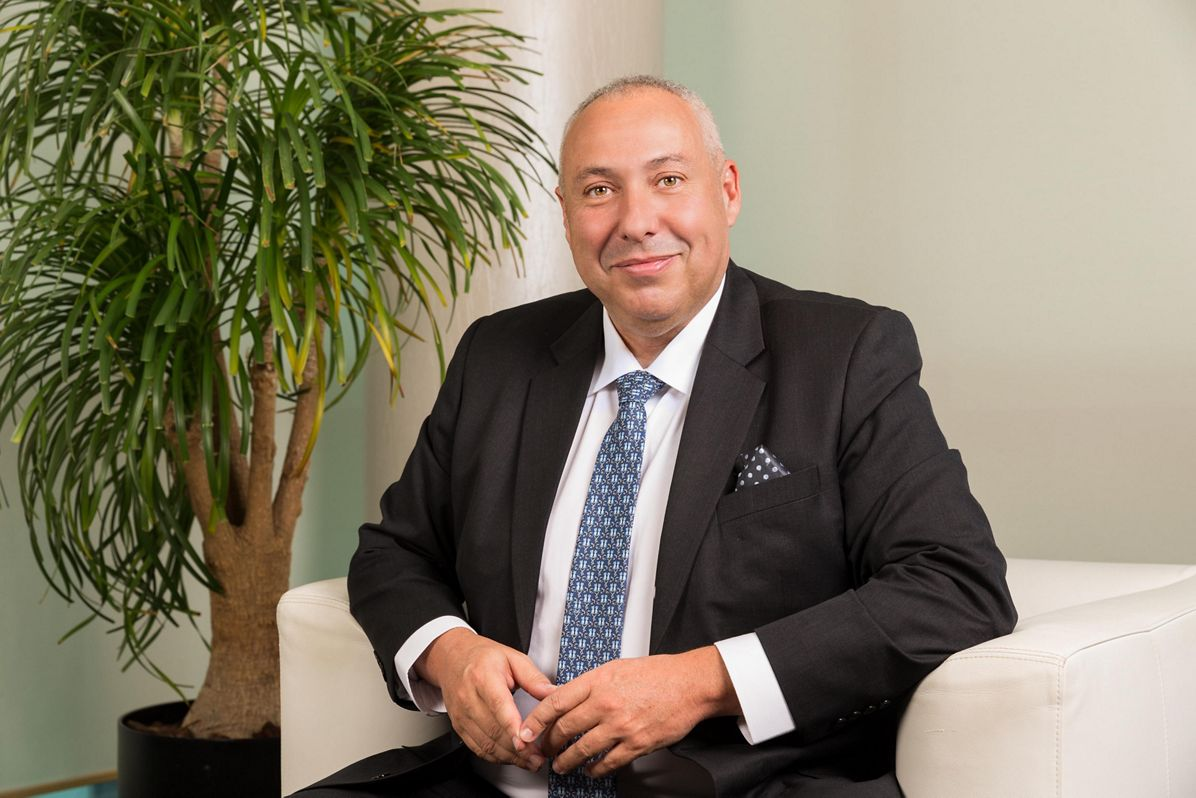 Mikail Houari, President for Africa and the Middle East region