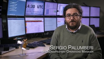 Sergio Palumberi talks about SpaceDataHighway