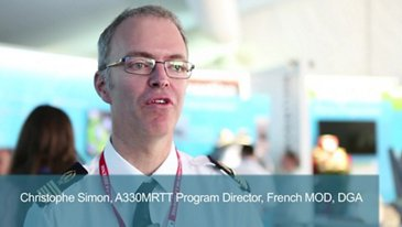 Interview of Christophe Simon, A330MRTT Program Director
