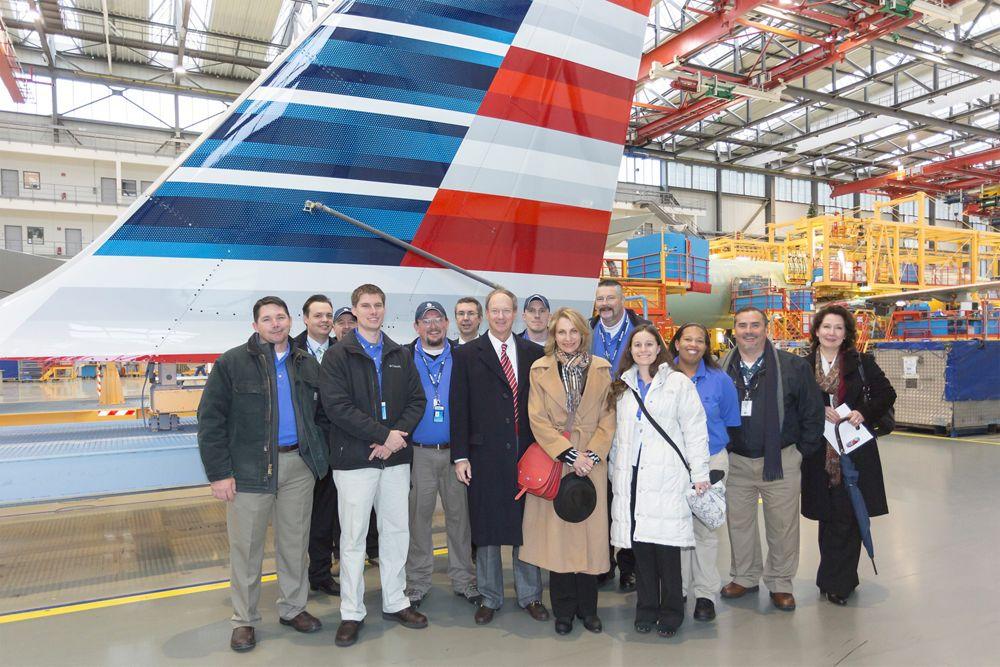 Mobile Assembly Line team visit to Hamburg