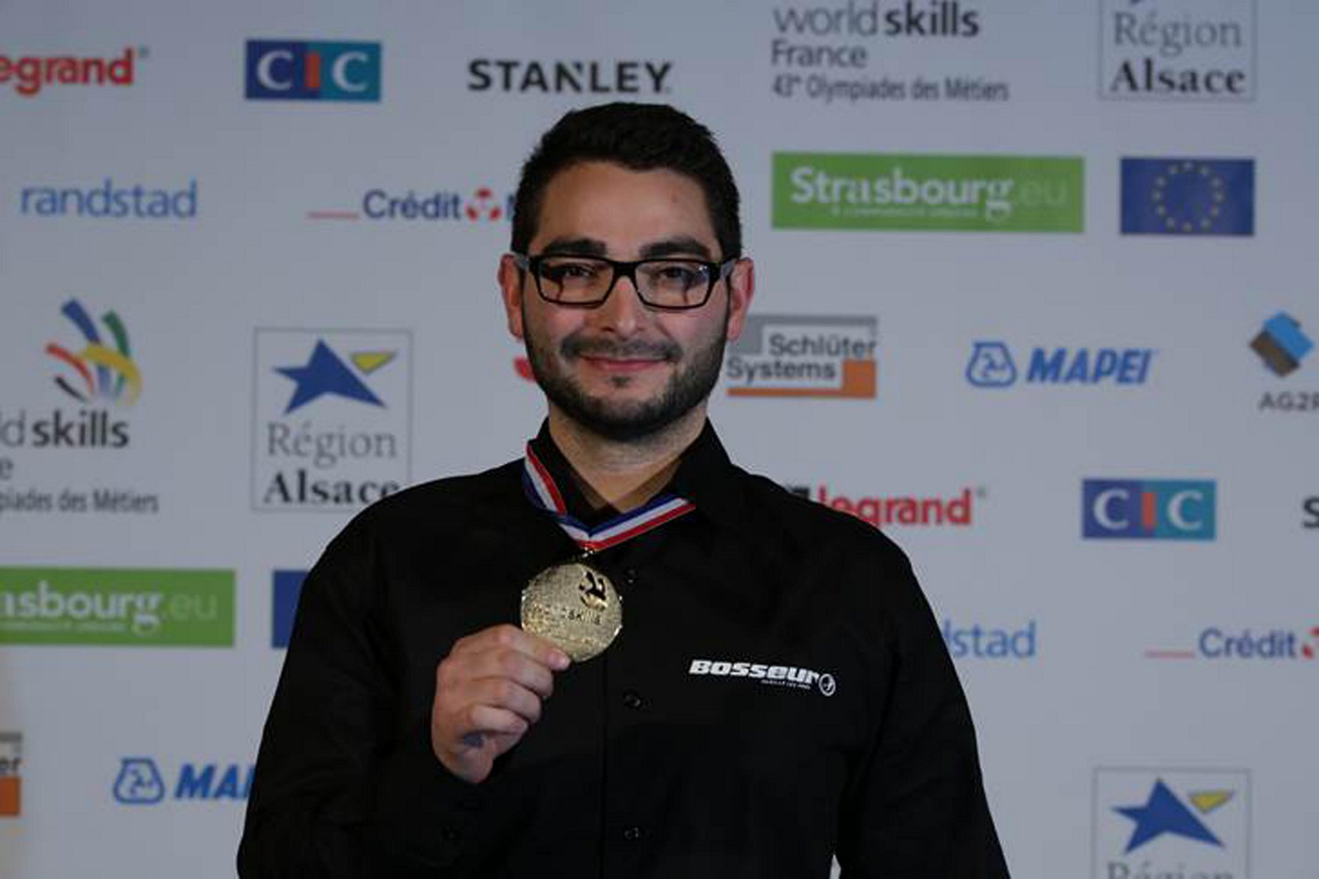 Kévin Sanchez Worldskills gold medal 1