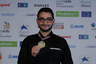 Kévin Sanchez Worldskills gold medal 1