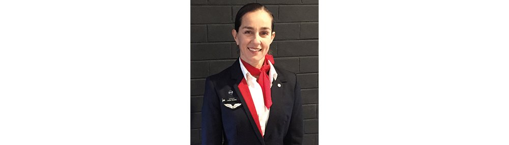 Jodie Stoyles, Qantas customer service manager