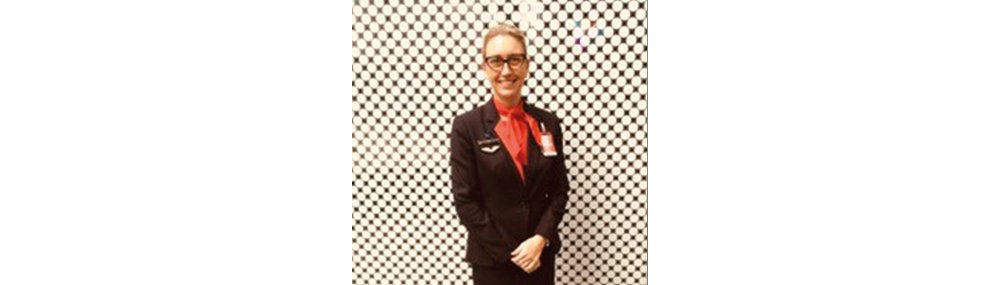 Qantas customer service supervisor Kelly Johnston