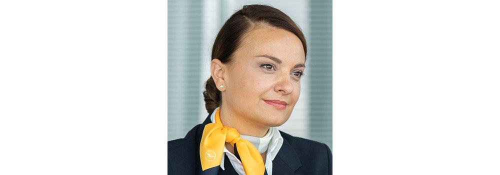 Lufthansa flight attendant Susanne D'Aloia