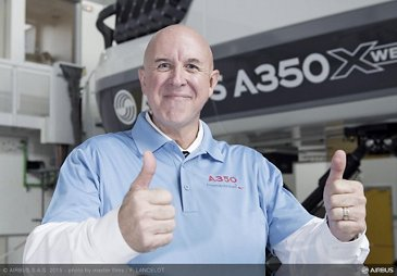 First FAA certified A350 XWB pilot