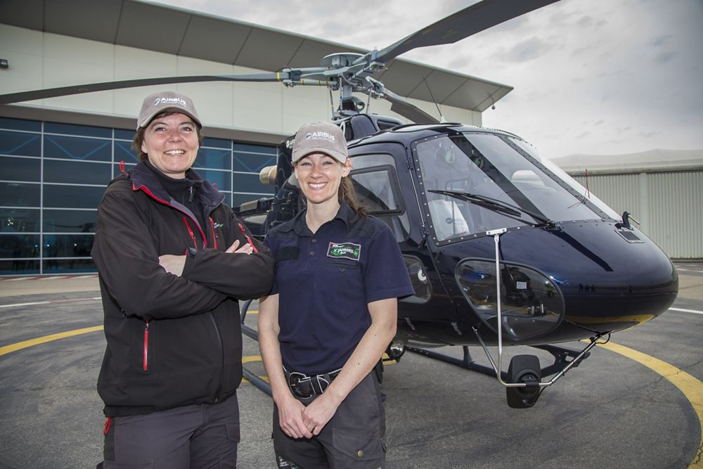 H125 / Norvege / pilotes , Her story: Aga Tone, female pilot with Norway's Nor Aviation