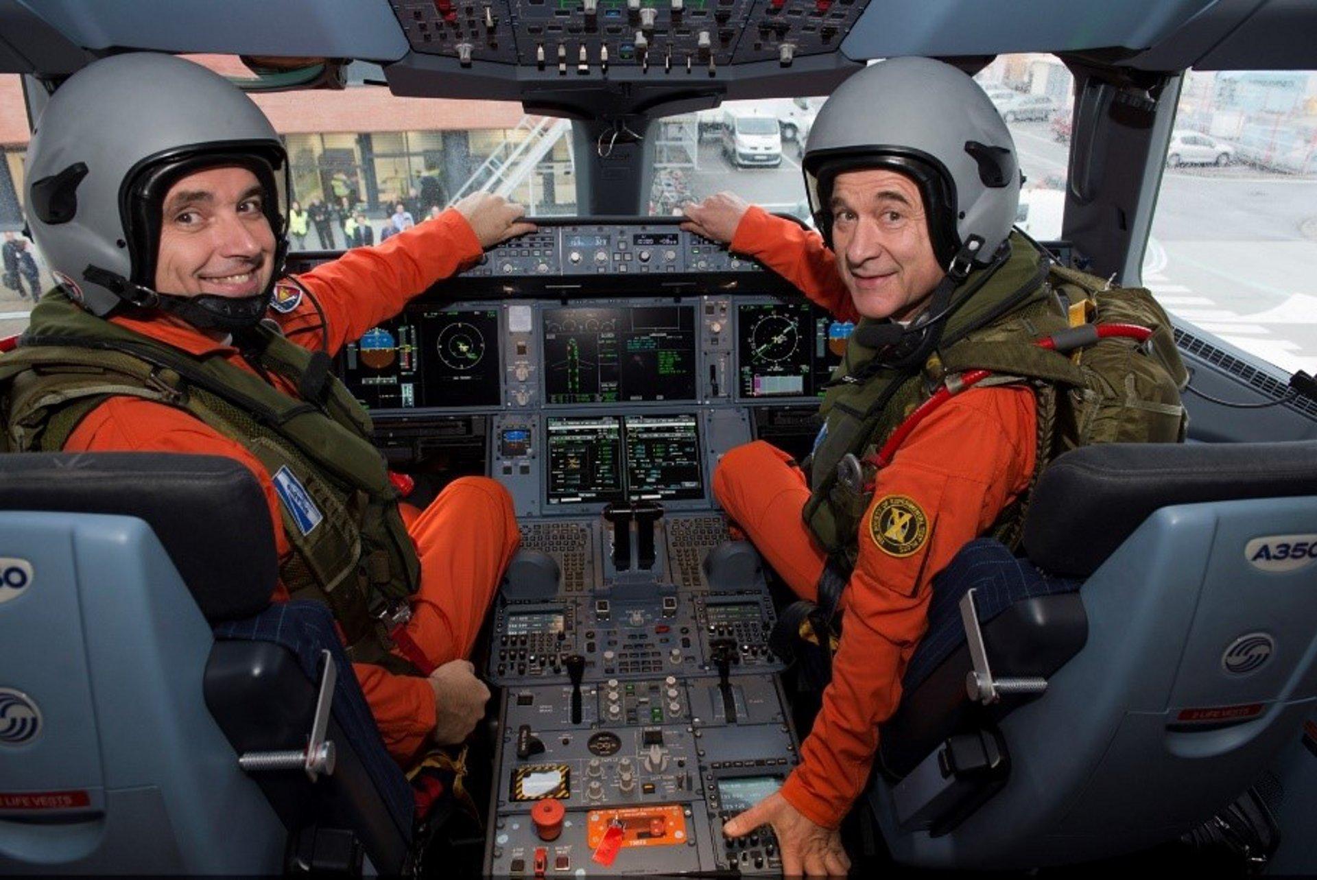 Airbus test pilot Frank Chapman 3