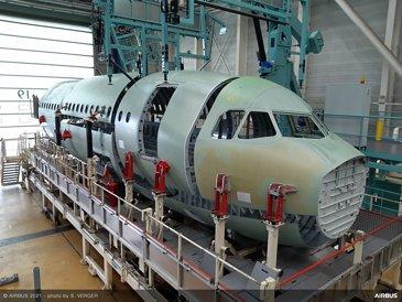 A321XLR前机身