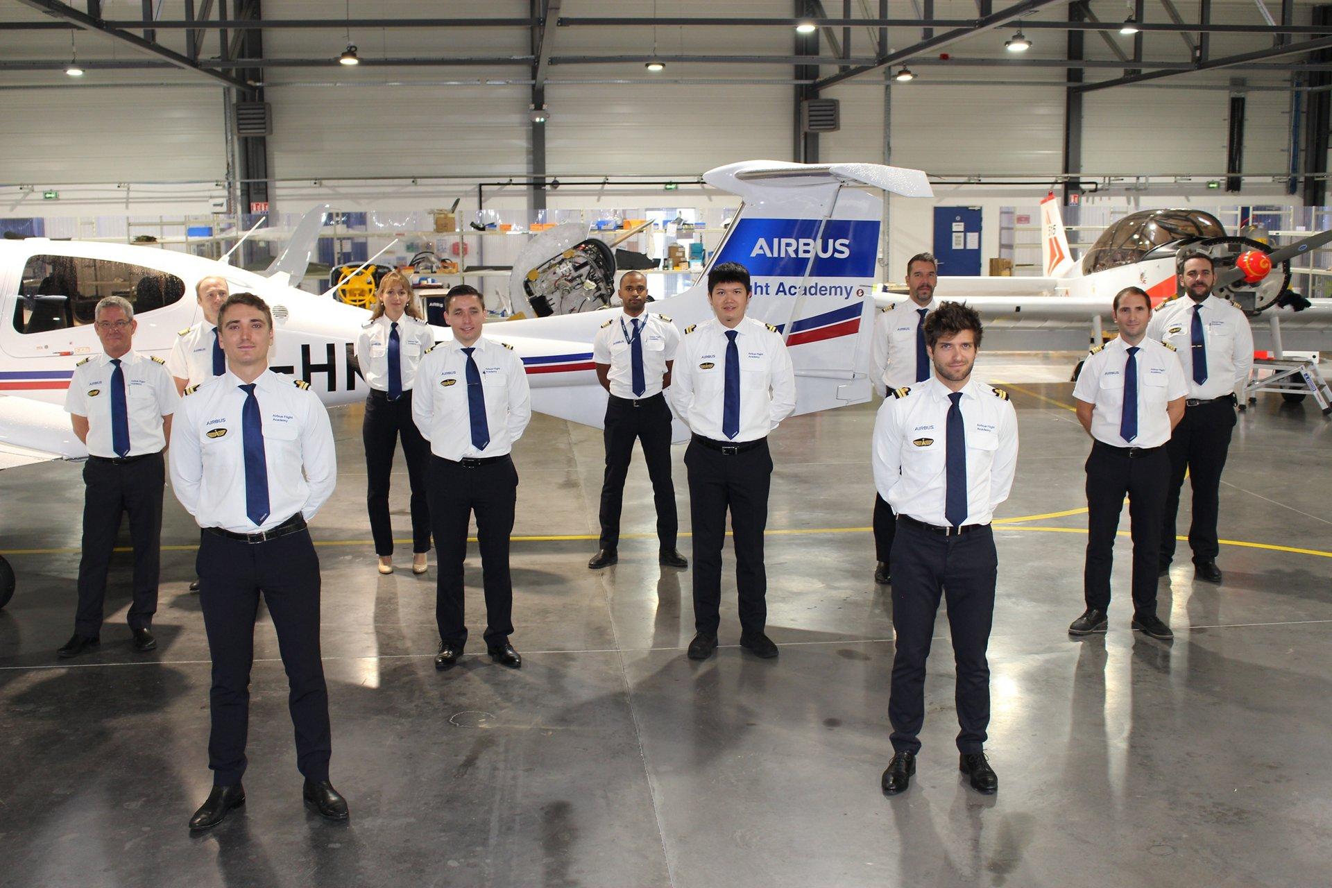 Airbus Pilot Cadet Training Prog