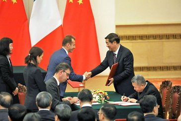 China-France Further Development of Industrial Cooperation