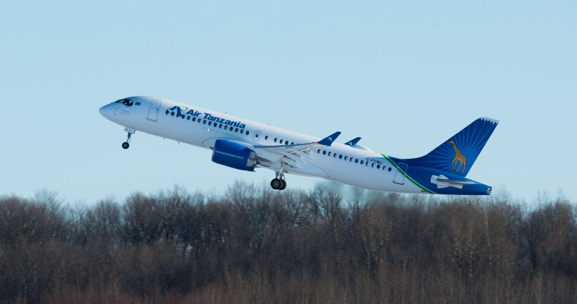 Resultado de imagen para Air Tanzania A220-300
