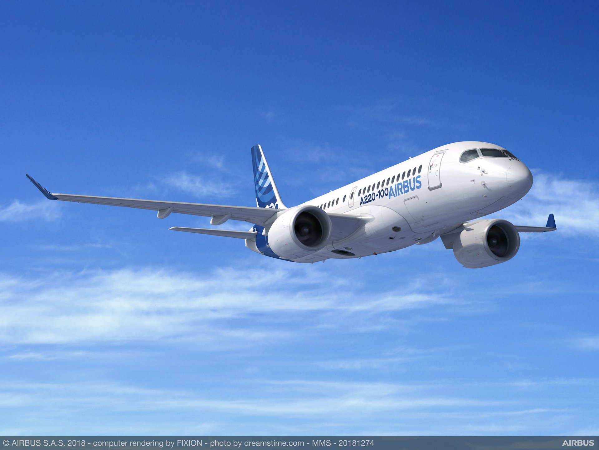 Airbus A220-100