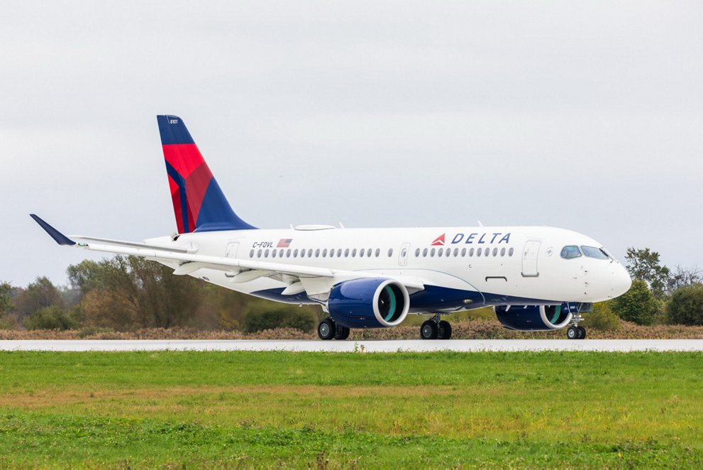 First A220 delivery to Delta Air Lines 1