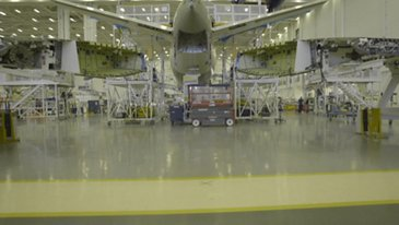 A220-100 Delta Air Lines Fuselage