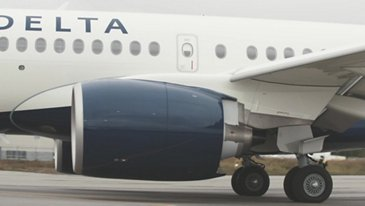 A220-100 Delta Air Lines Taxiing