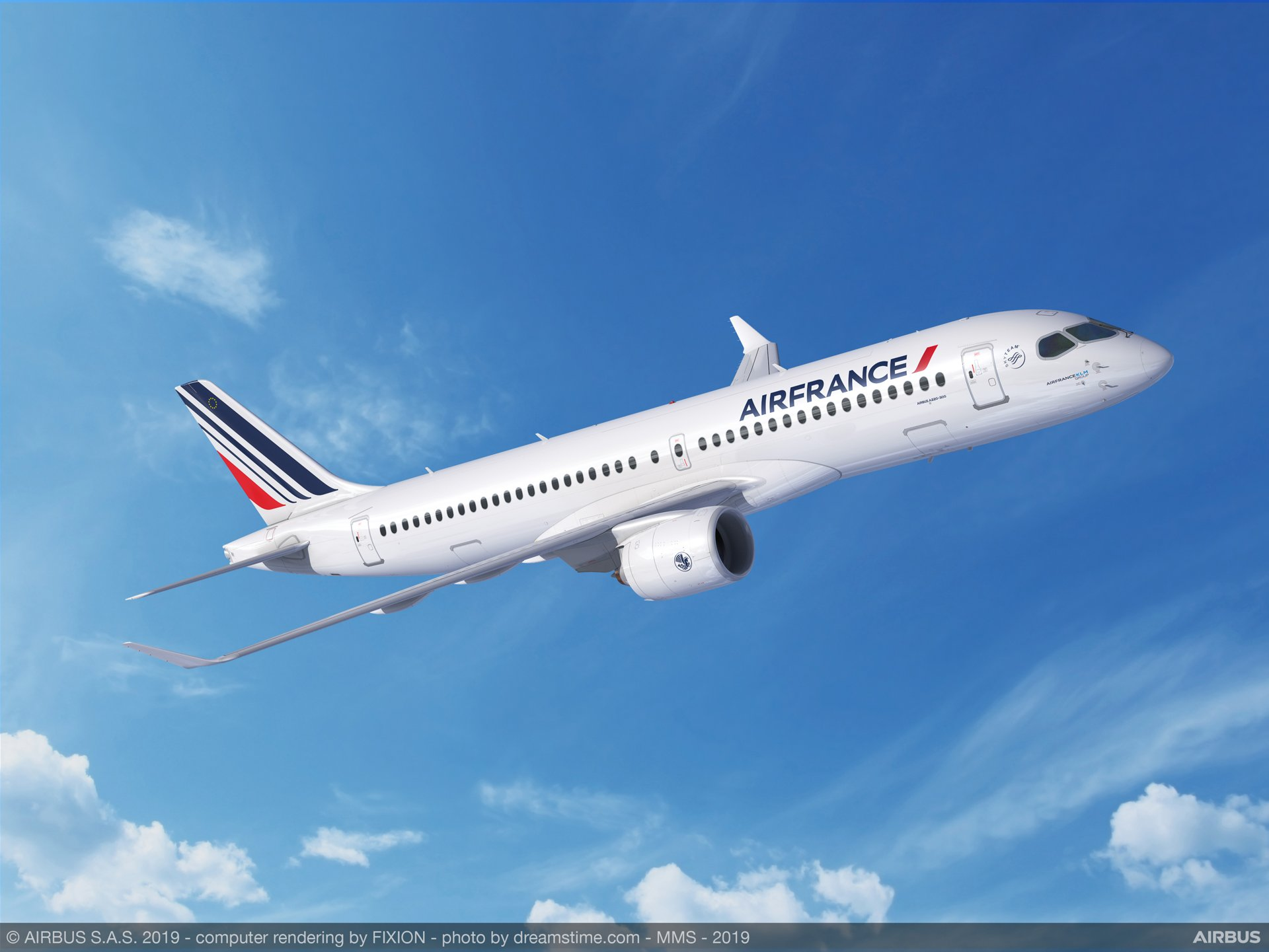 The Air France–KLM Group signed a Memorandum of Understanding in July 2019 for 60 A220-300 jetliners; these larger members of the efficient and technologically advanced single-aisle A220 Family are intended to be operated by Air France