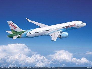 A220-300 for Air Vanuatu