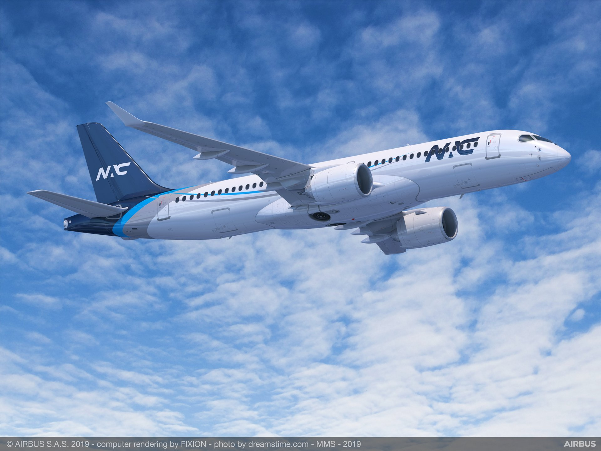 Nordic Aviation Capital will acquire 20 A220 Family aircraft as part of a Memorandum of Understanding announced at the 2019 Paris Air Show, including both A220-100 and A220-300 versions