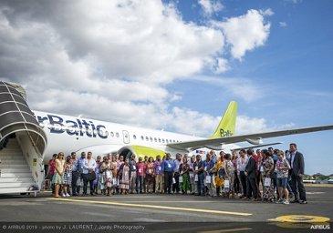 A220 Asia-Pacific tour – Nouméa
