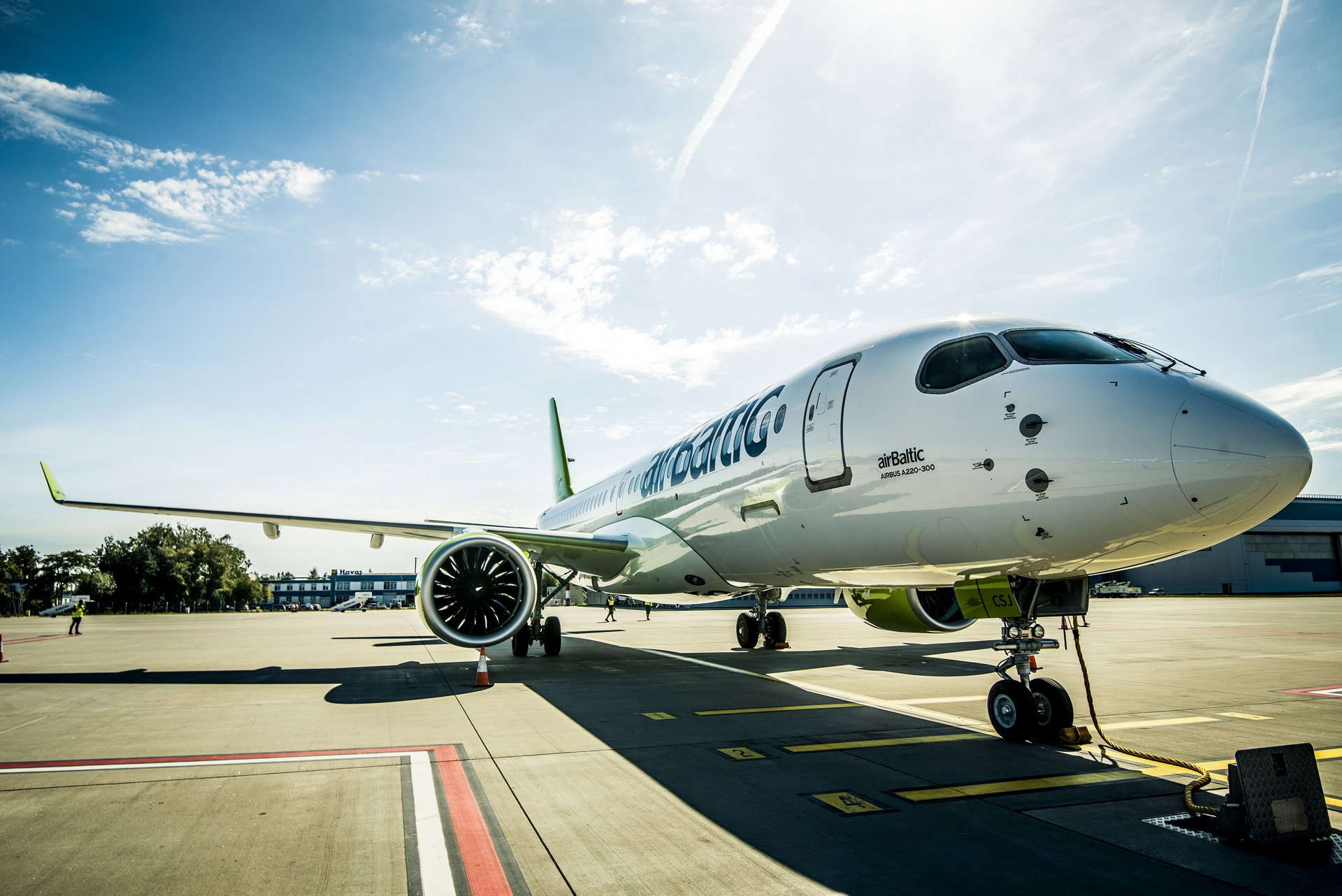 World demonstration tour with airBaltic A220-300