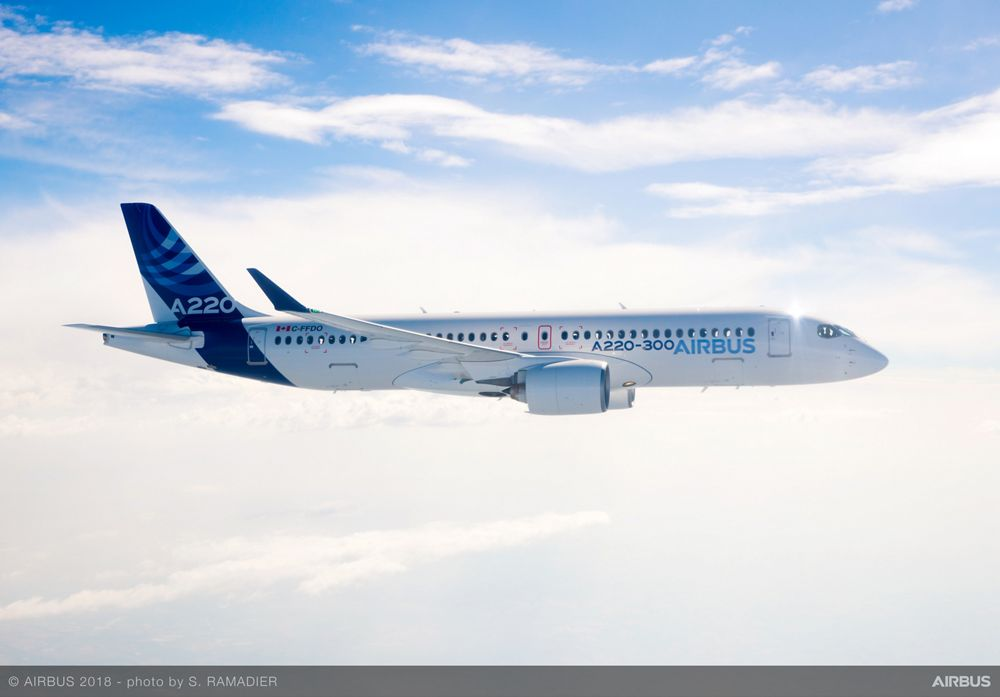 A220 wins approval for 180 minutes ETOPS capability