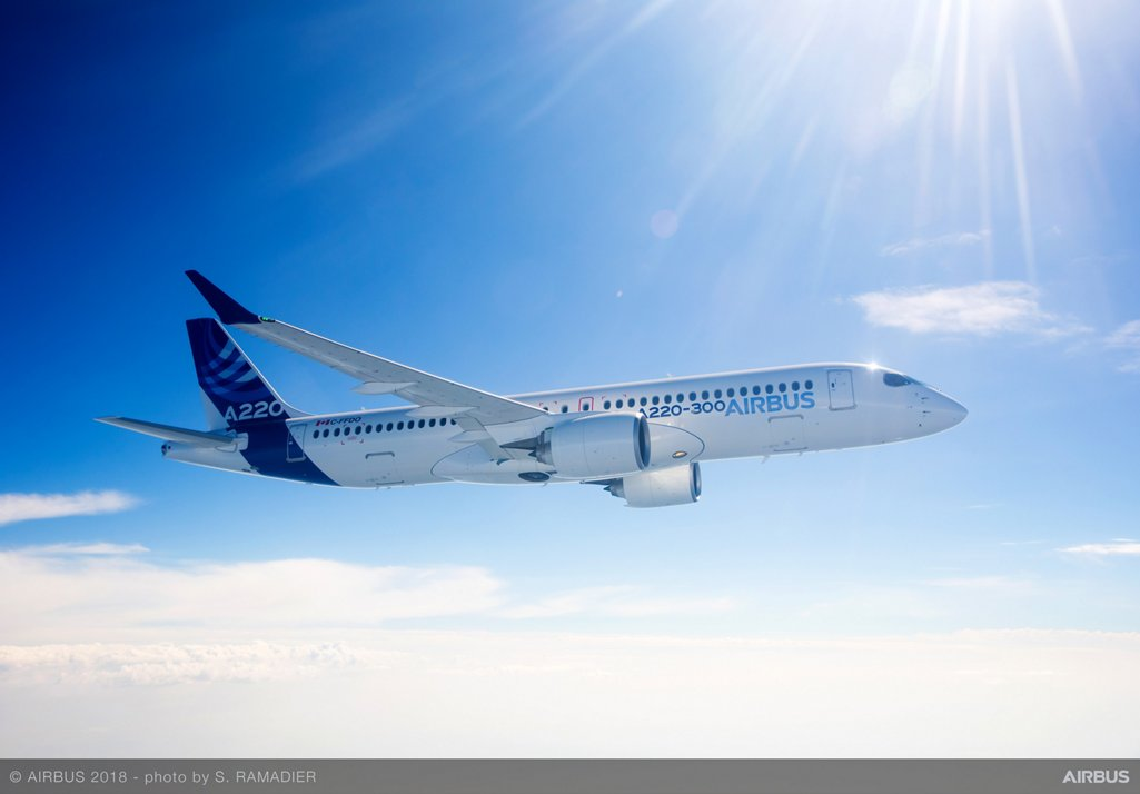 The A220-300 is the A220 Family's longer-fuselage version; specifically designed and purpose-built for the 130-160 seat market, it is a member of the most efficient aircraft family in its class