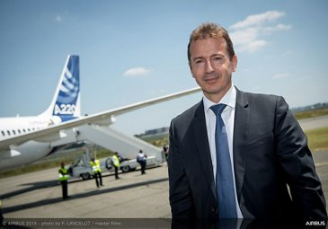 A220 reveal: first arrival in Airbus livery 9
