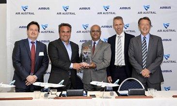 Air Austral A220 firm order
