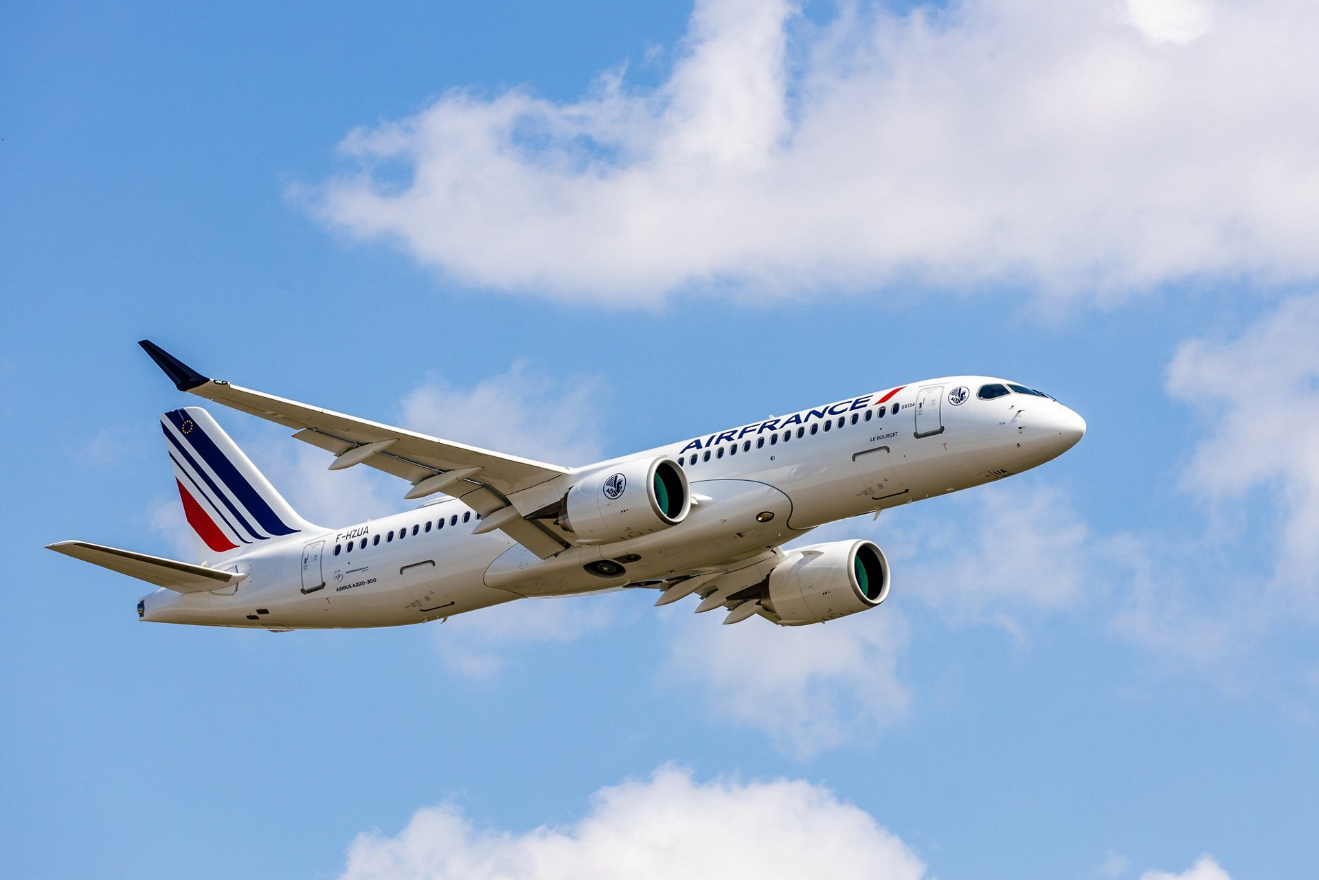 Air France has received its first A220-300 from an order for 60 aircraft of the type, the largest A220 order from a European carrier. The aircraft was delivered from Airbus' final assembly line in Mirabel, Quebec, Canada and officially unveiled to the public during a ceremony held at Paris Charles-De-Gaulle Airport.