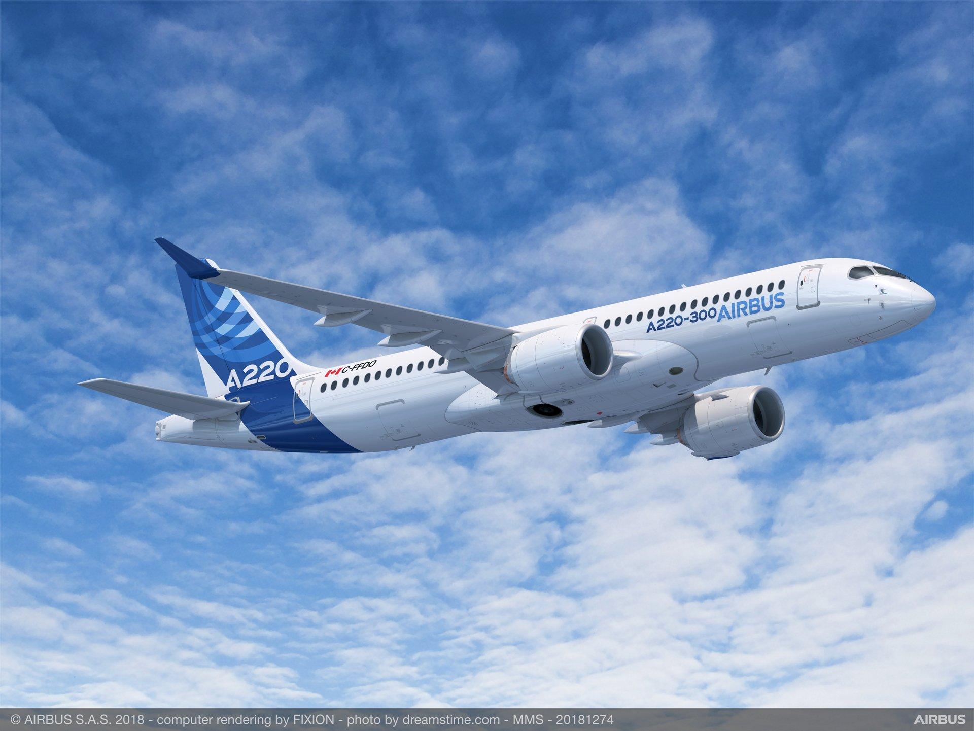 With lower costs per trip than larger single-aisle aircraft, the Airbus A220-300 allows airlines to connect distant points on continents or sectors that were previously unprofitable or impossible