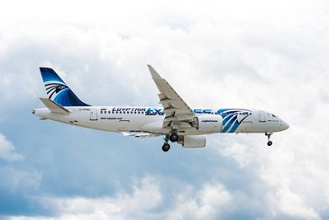 EgyptAir's initial A220-300: first flight
